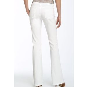 Citizens of Humanity Kelly Bootcut Jeans in White